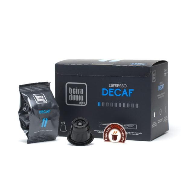 Вeira Douro Decaf nespresso compatible capsules box