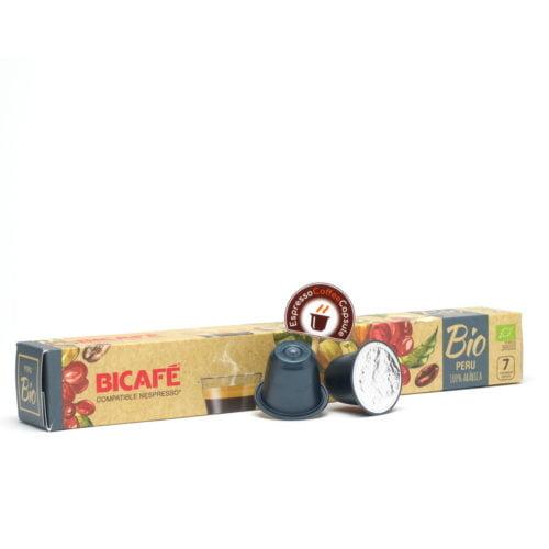 Bicafe Bio Peru nespresso compatible pods