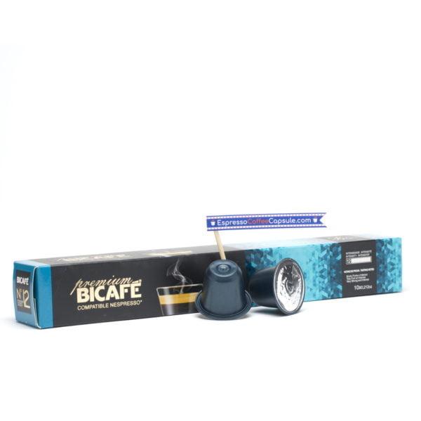 Bicafe premium blue nespresso pods