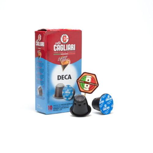 CAGLIARI Deca nespresso compatible capsule