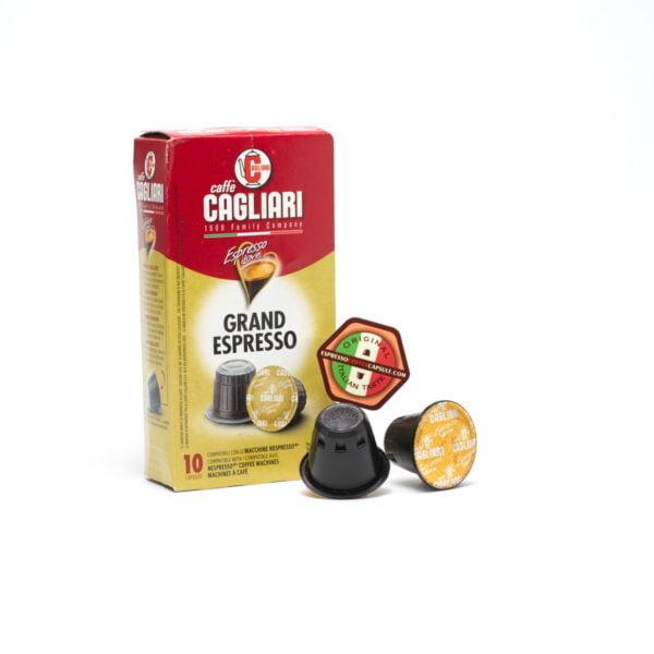 CAGLIARI Grand Espresso pods capsules