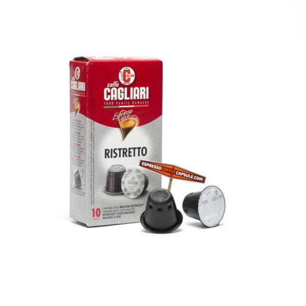 CAGLIARI Ristretto coffee capsules for nespresso