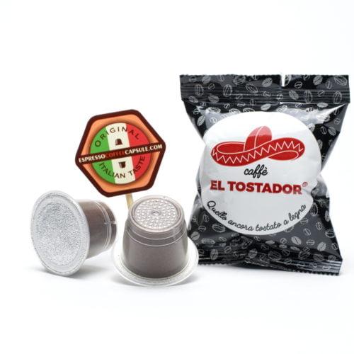 EL TOSTADOR Forte coffee pods for nespresso