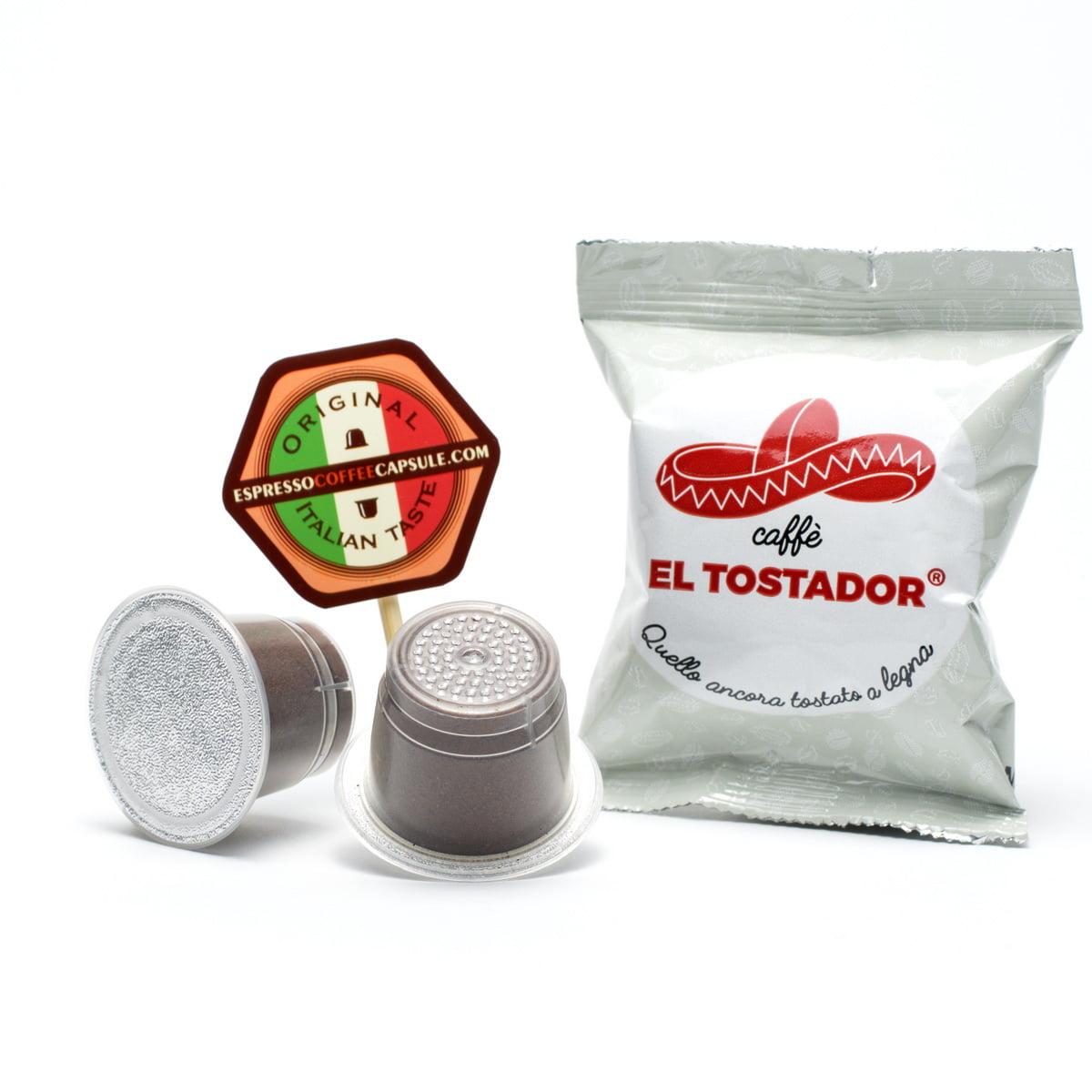 EL TOSTADOR coffee capsules pods nespresso