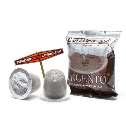 Caffe DONATELLO Argento coffee pods
