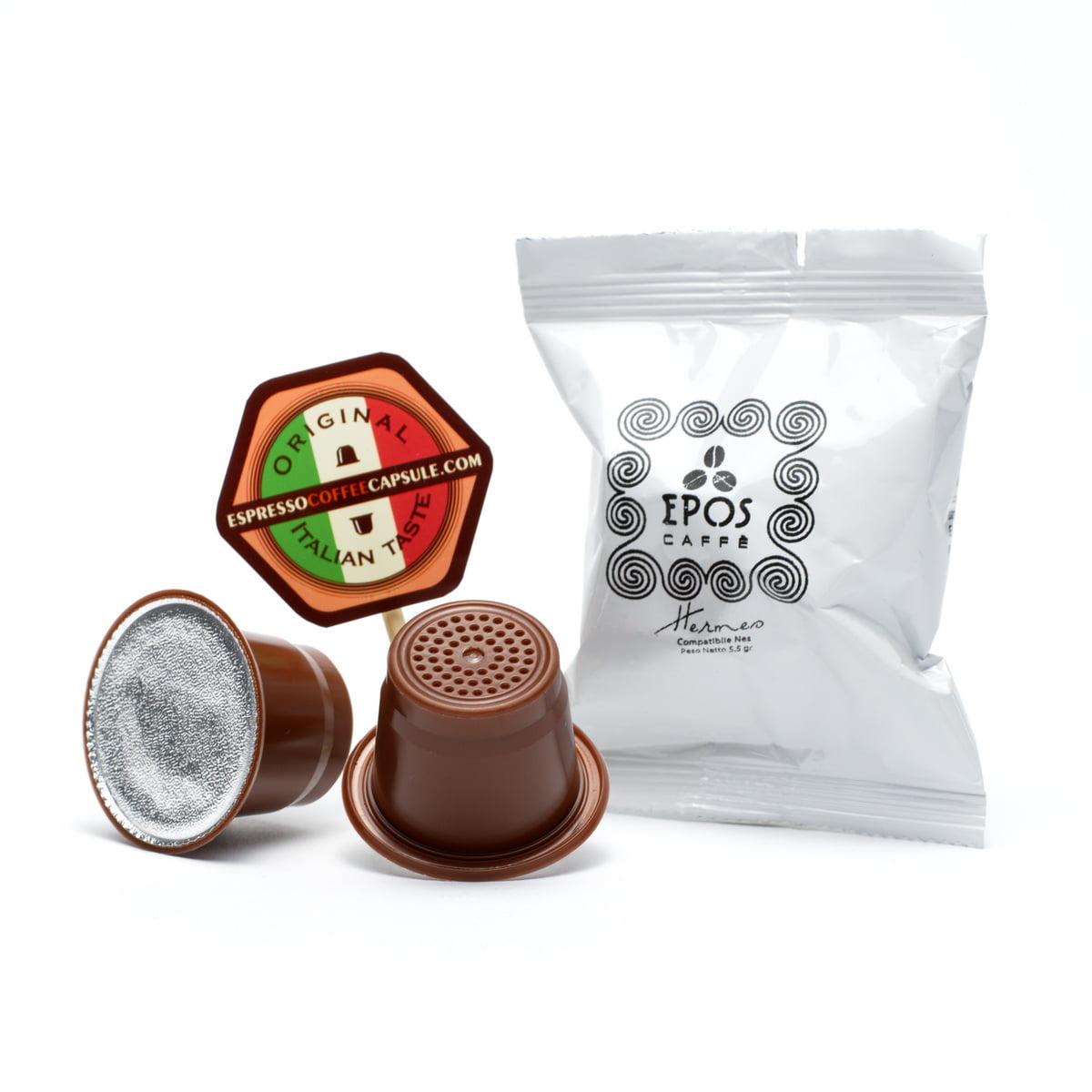 EPOS Hermes Italian coffee in nespresso capsules