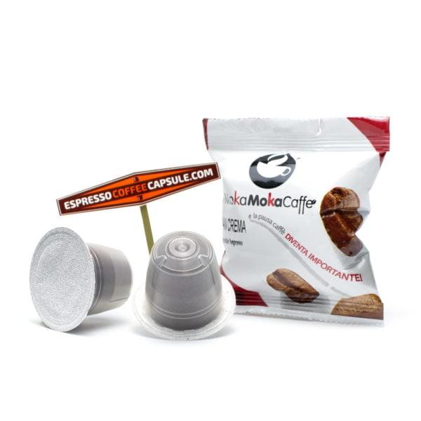 MokaMokaCaffe Gran Crema nespresso compatible capsules