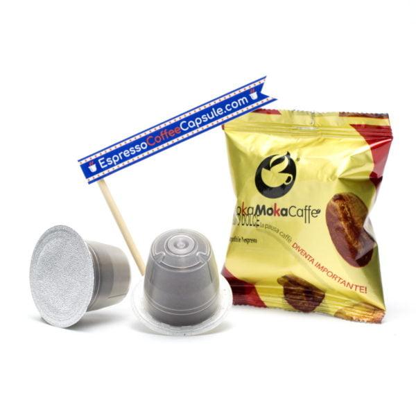 MokaMokaCaffe Gusto Dolce nespresso compatible capsule