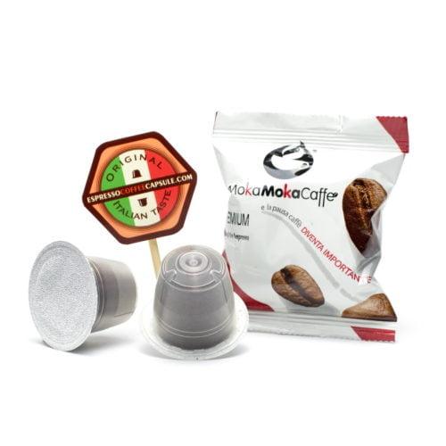 MokaMokaCaffe Premium nespresso compatible capsules