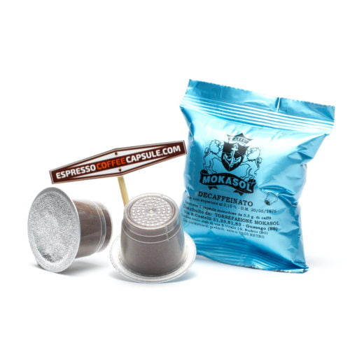 MOKASOL Decaffeinato bar capsules