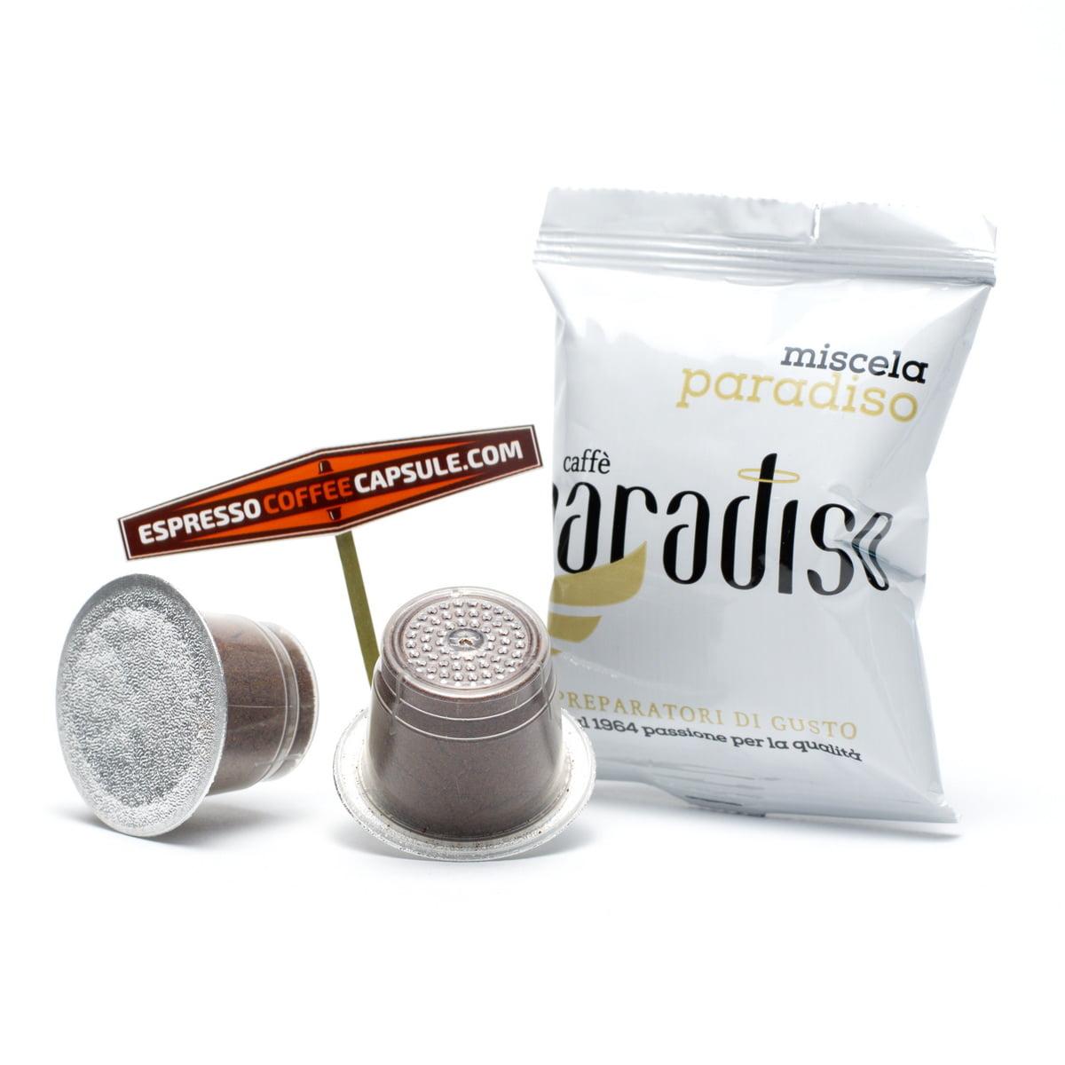 PARADISO Top Class coffee capsules for nespresso